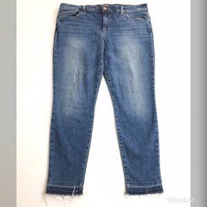 Joes Jeans 32 Skinny Ankle Released Hem Stretch